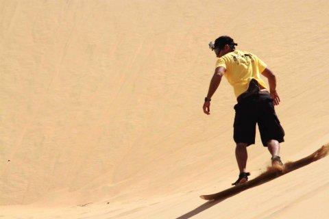 Araguato Venezuela Coro Los Cuentos de mi Tierra Sanboard sandboarding sandboarder Coro Medanos Sand dunes dune surfing venezuela travel